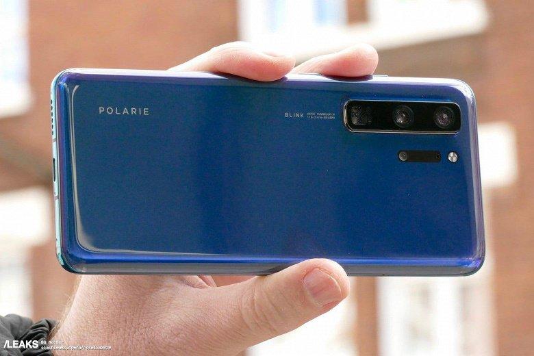 Huawei P40 Pro показали на реальных фотографиях