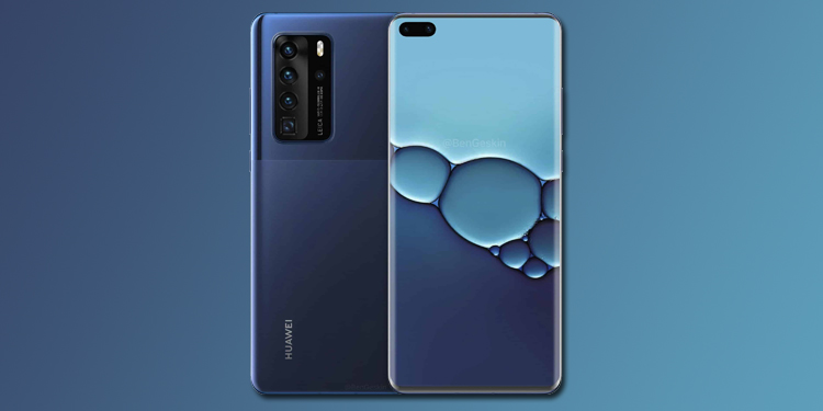Камере Huawei P40 приписывают новый сенсор Sony IMX700