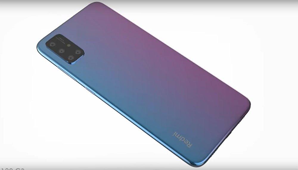 Концепт смартфона Redmi Note 9 демонстрируют на видео