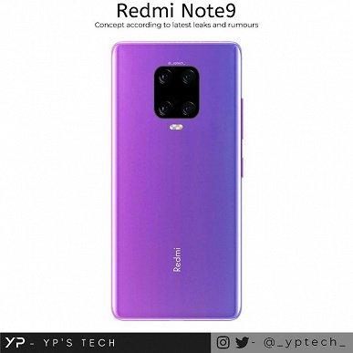 Новые рендеры подтвердили дизайн Redmi Note 9