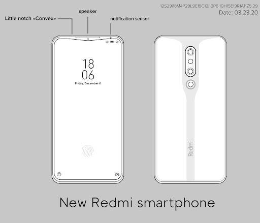 Redmi готовит еще один смартфон с интересным дизайном