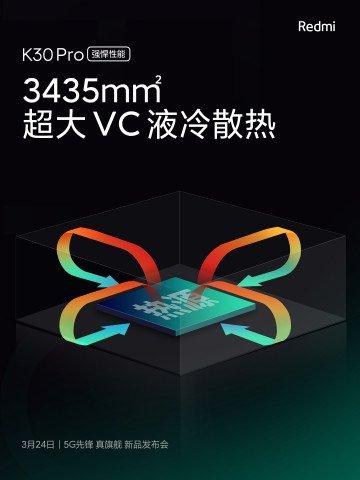 Xiaomi раскрыла ключевые характеристики Redmi K30 Pro