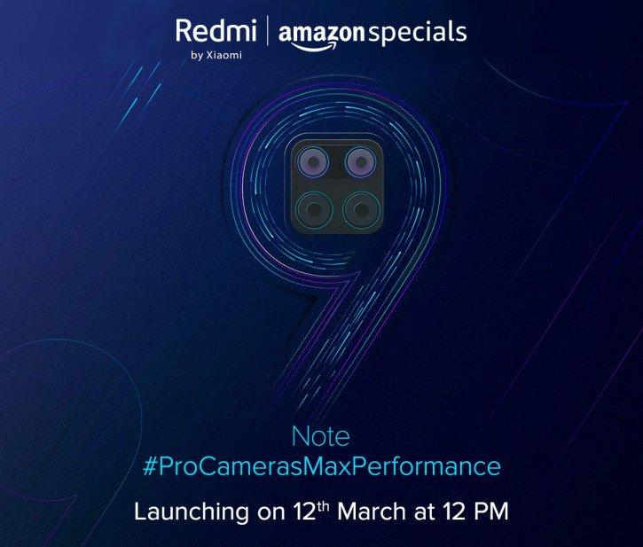 Опубликованы первые официальные тизеры Redmi Note 9
