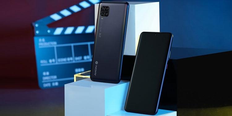 Официально представлен 5G-смартфон ZTE Axon 11