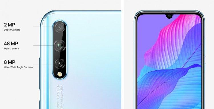 Смартфон Huawei Y8p оснастили платформой Kirin 710F