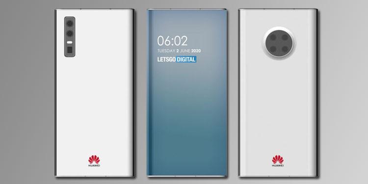 Huawei получила патент на смартфоны с подэкранной фронталкой